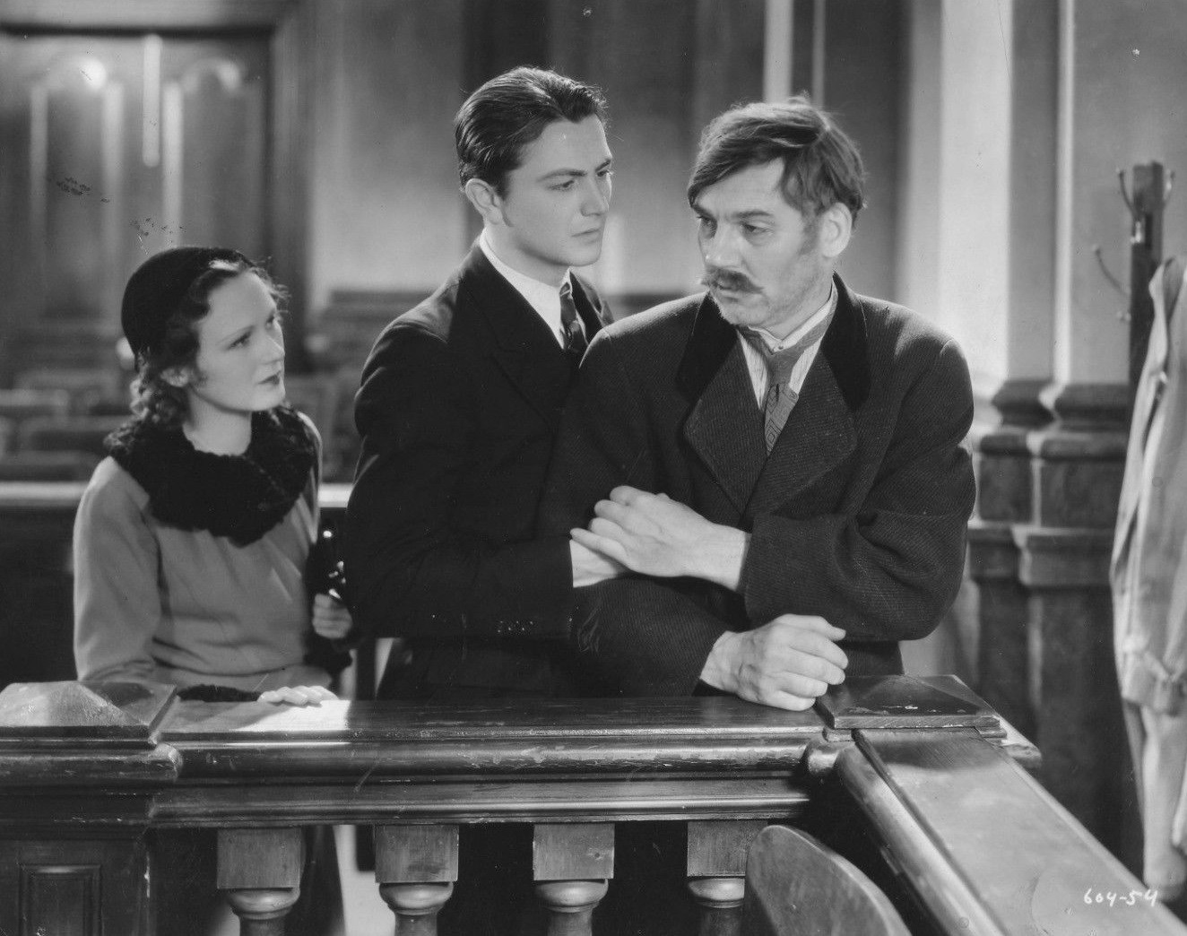Robert Young, Walter Huston, and Dorothy Jordan in The Wet Parade (1932)