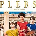 Ryan Sampson, Joel Fry, and Tom Rosenthal in Plebs (2013)