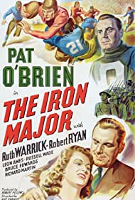 Pat O'Brien and Ruth Warrick in The Iron Major (1943)