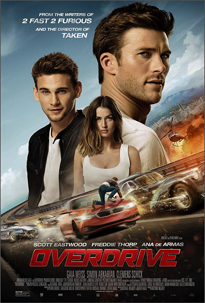 Poster film Overdrive.