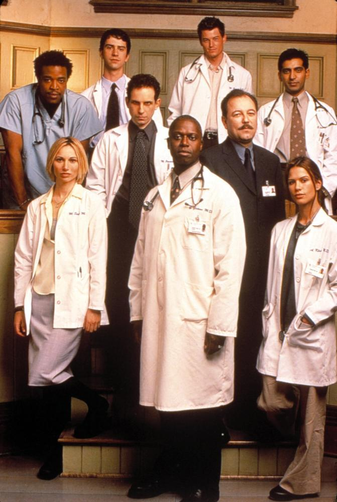 Rubén Blades, Andre Braugher, Eric Dane, Russell Hornsby, Ravi Kapoor, Sophie Keller, Hamish Linklater, and Rhona Mitra in Gideon's Crossing (2000)
