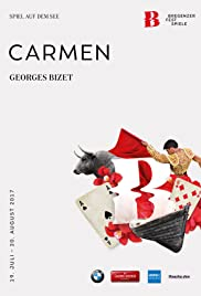 Bregenzer Festspiele 2017: Carmen Poster