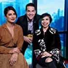 Priyanka Chopra Jonas, Shonali Bose, and Dave Karger at an event for The Sky Is Pink (2019)