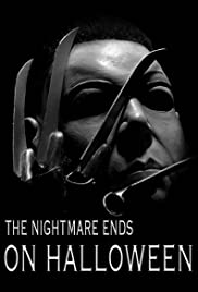 The Nightmare Ends on Halloween Poster