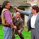 Leonard Lansink, Karl Markovics, and Tobias Moretti in Kommissar Rex (1994)