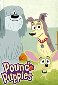 Michael Rapaport, Eric McCormack, and John DiMaggio in Pound Puppies (2010)