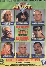 WCW Battlebowl Poster