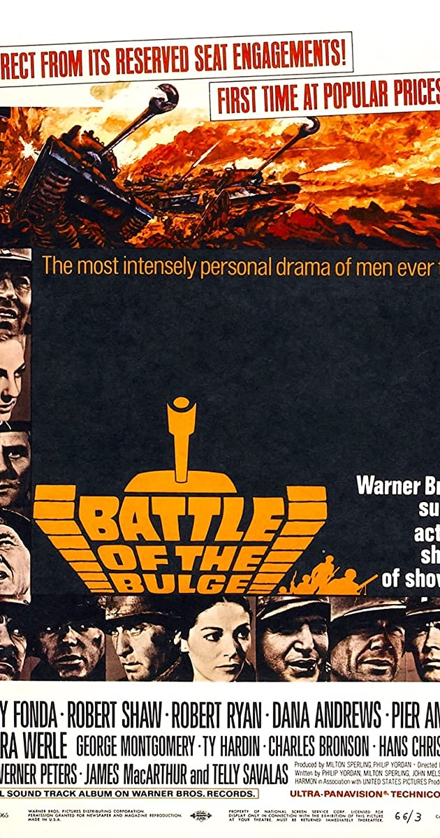 Battle Of The Bulge (1965) [BluRay] [720p] [YTS.LT]