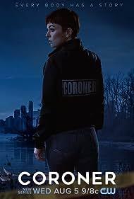 Serinda Swan in Coroner (2019)