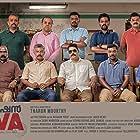 Sanjay K. Nair, Deepak Vijayan, Jose M.V., Parvathy Nena Mouli, Irshad, Lukman Lukku, Balu Varghese, Prasanth, Binu Pappu, and Vinod Bose in Operation Java (2021)