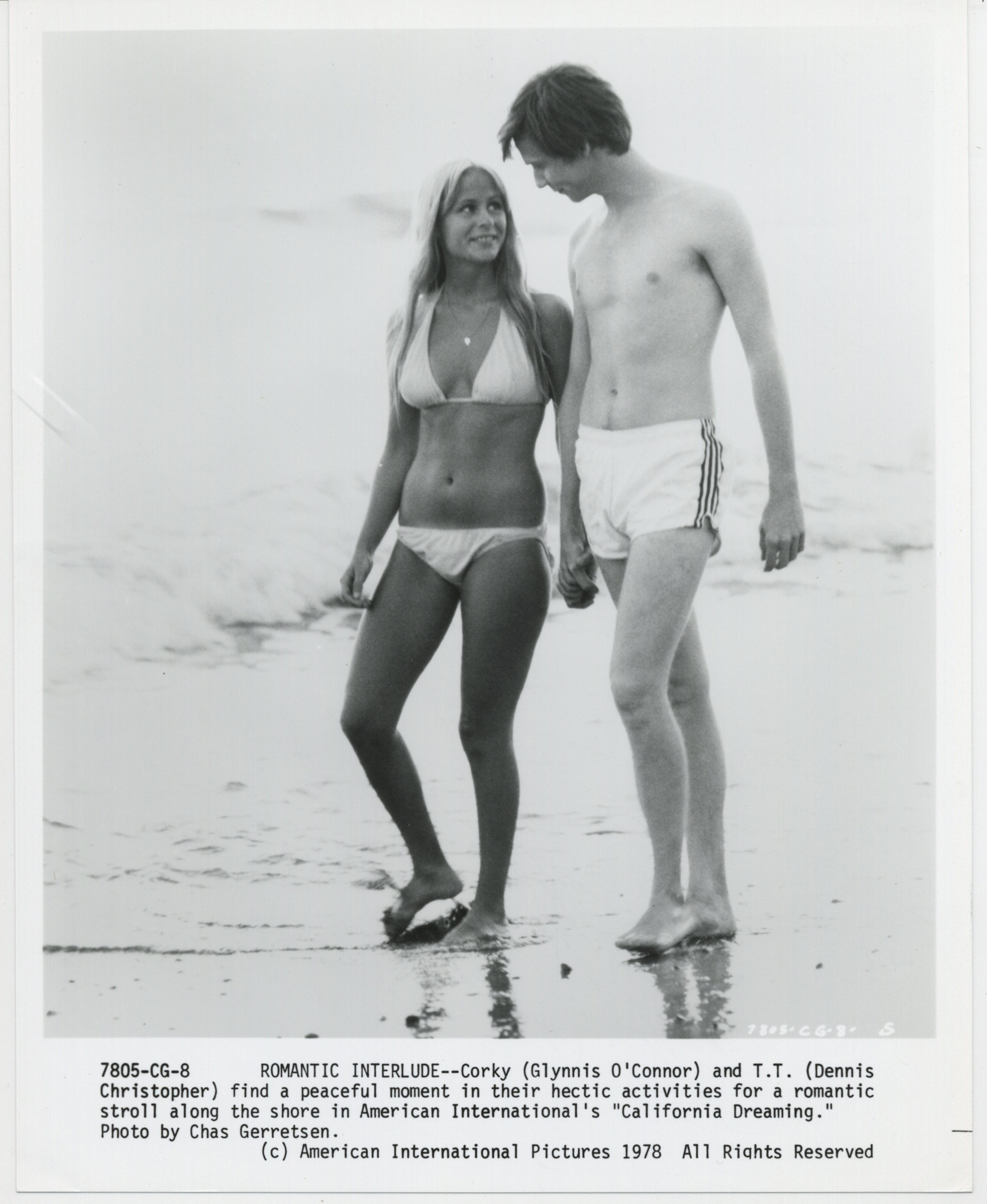 Dennis Christopher and Glynnis O'Connor in California Dreaming (1979)