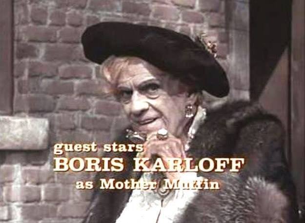 Boris Karloff in The Girl from U.N.C.L.E. (1966)