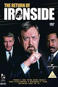 Raymond Burr, Don Galloway, and Don Mitchell in The Return of Ironside (1993)