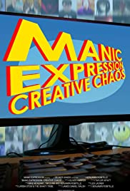 Manic Expression: Creative Chaos Poster