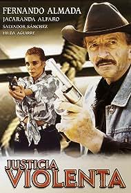 Jacaranda Alfaro and Fernando Almada in Justicia violenta (1995)