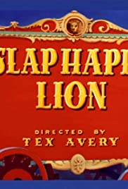 Slap Happy Lion Poster