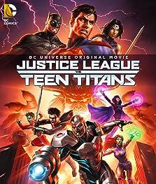 Justice League vs. Teen Titans (2016 Video)