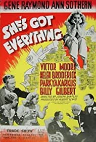 She's Got Everything (1937) Poster - Movie Forum, Cast, Reviews