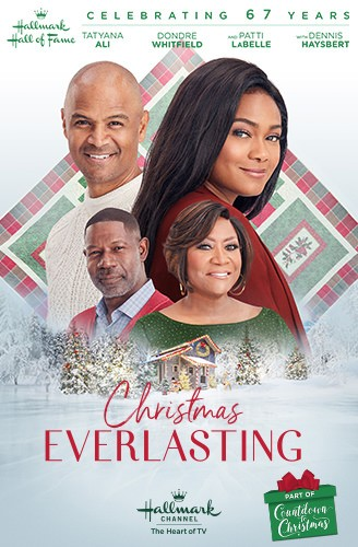 Tatyana Ali, Dennis Haysbert, Patti LaBelle, Dondre Whitfield, and Jaida-Iman Benjamin in Christmas Everlasting (2018)
