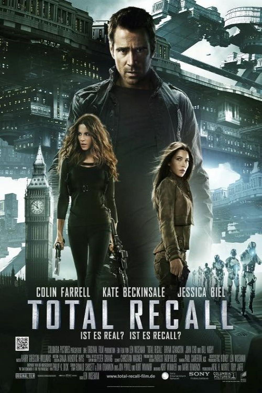 Poster film Total Recall 2012.