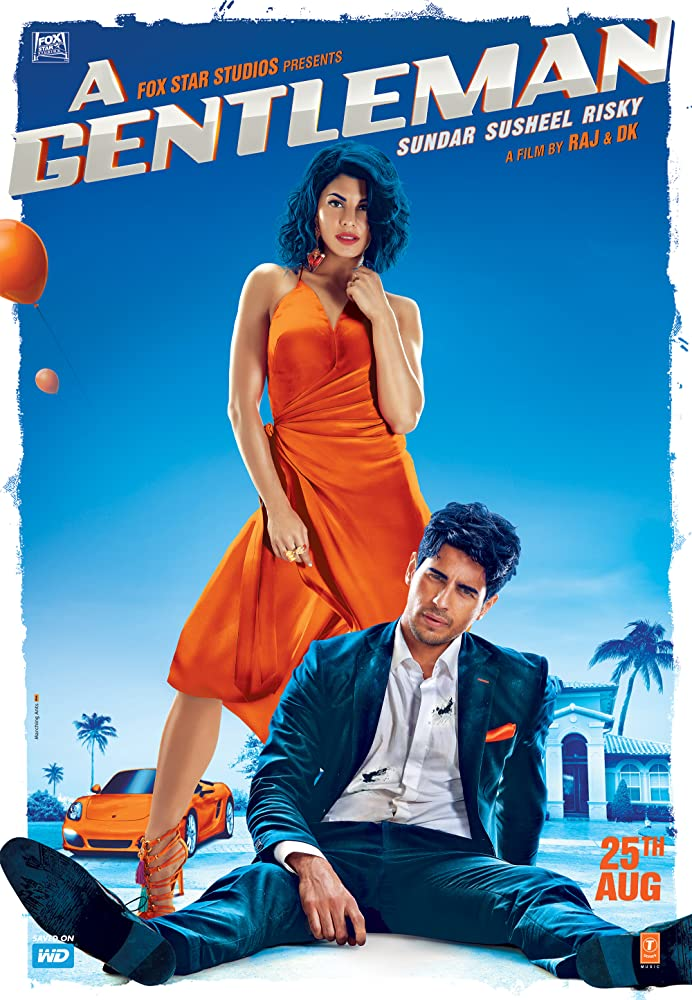 A Gentleman 2017 Hindi 400MB BluRay Download