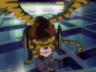 Tamer yo Tate! MegaloGrowmon Chou Shinka