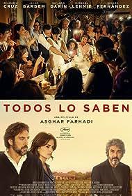 Javier Bardem, Penélope Cruz, Ricardo Darín, and Mehdi Taleghani in Todos lo saben (2018)
