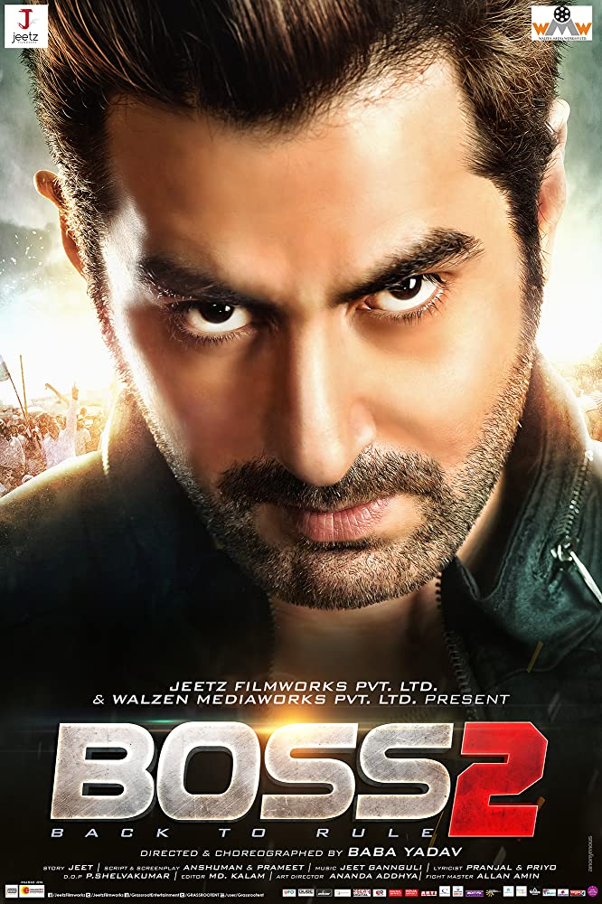 Boss 2 (2017) Bengali 720p Original HDRip x264 900MB