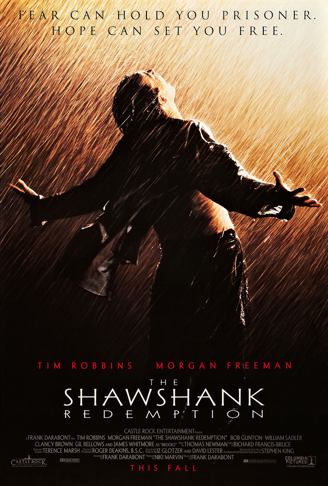 The Shawshank Redemption (1994) BluRay 480p, 720p & 1080p