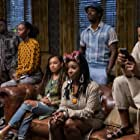 Logan Browning, Marque Richardson, Antoinette Robertson, Ashley Blaine Featherson, and Brandon Black in Dear White People (2017)