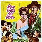 Anthony Quinn, Ava Gardner, Robert Taylor, and Howard Keel in Ride, Vaquero! (1953)