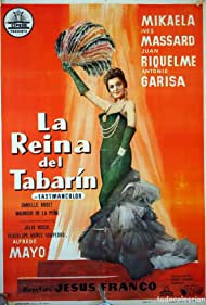 Mikaela in La reina del Tabarín (1960)