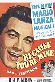 Because You're Mine Poster