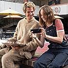 Maya Hawke and Andrew Garfield in Mainstream (2020)