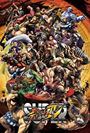 Super Street Fighter IV Poster