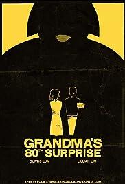 Grandma's 80th Surprise Poster