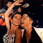 Victoria Abril and Josiane Balasko in Gazon maudit (1995)