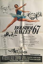 Bolshoi Ballet '67 Poster