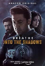 Abhishek Bachchan, Amit Sadh, and Nithya Menen in Breathe: Into the Shadows (2020)