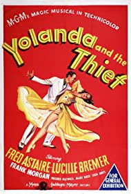 Fred Astaire and Lucille Bremer in Yolanda and the Thief (1945)