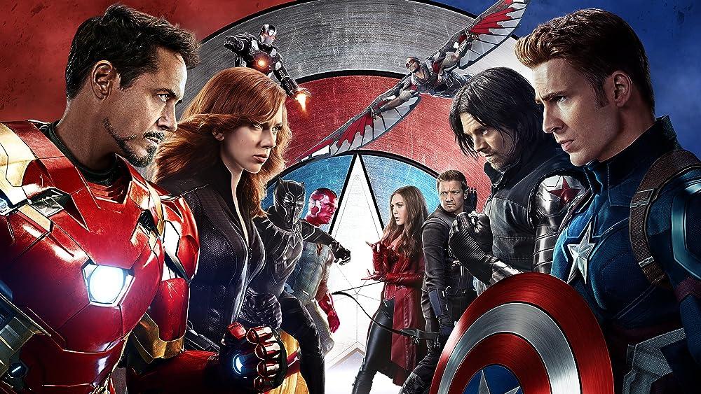 Captain America Civil War Image Two