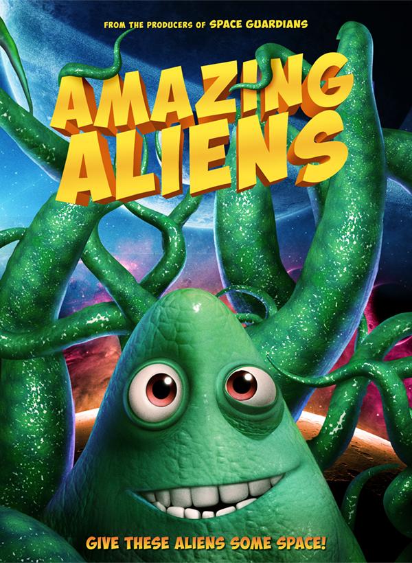 Nuostabūs ateiviai (2019) / Amazing Aliens
