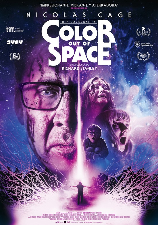 Color Out of Space 2019 Hindi ORG Dual Audio 480p BluRay ESubs 400MB x264 AAC