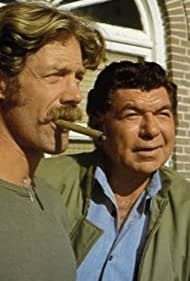 Claude Akins and Frank Converse in Movin' On (1974)