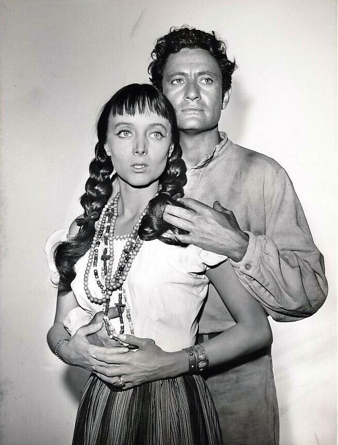 Carolyn Jones and Paul Richards in Zane Grey Theater (1956)