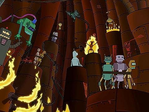 Futurama 1×09 – El infierno son otros robots