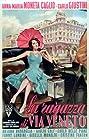 La ragazza di via Veneto (1955) Poster