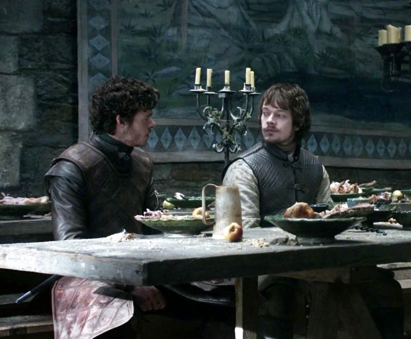 Richard Madden and Alfie Allen in Game of Thrones (2011)