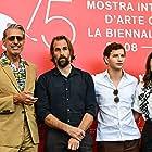 Jeff Goldblum, Hannah Gross, Rick Alverson, and Tye Sheridan at an event for The Mountain (2018)