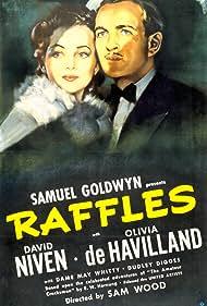 Olivia de Havilland and David Niven in Raffles (1939)